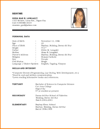 resume writing format pdf useful matrimonial resume sle for female in jobt pdf of sles