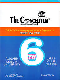 buy the conceptum class 6 for amu and jamia book online at low