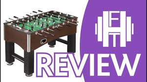 hathaway primo soccer table 56 hathaway primo soccer tablec brownc 56 inch quick view youtube