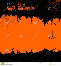 halloween spiders background festive halloween postcard with cobwebs and a spider in black and