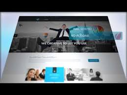 free after effects template for website presentation promotion
