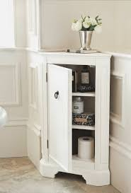 bathroom ideas white corner bathroom cabinet under silver flower