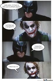 Batman Joker Meme - joker likes batman s suit by manavzx meme center