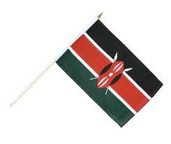 Images Kenya Flag Hand Waving Flag Kenya 12x18