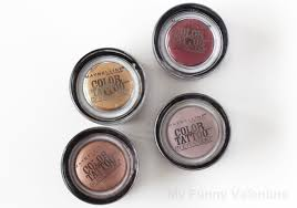maybelline color tattoo in bold gold and pomegranate punk review