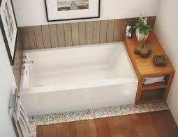 soaking tubs maax rubix 60 x 30 skirted soaking tub 105815