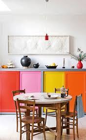 multi color kitchen cabinets 93 bright and colorful kitchen design ideas digsdigs