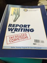 report writing for increased convictions amazon com books