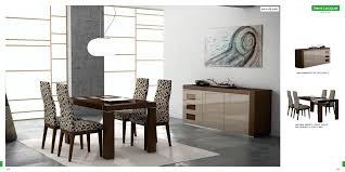 ultra modern dining room and