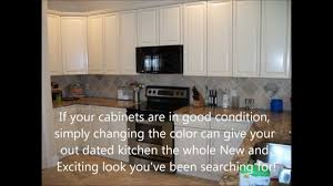 kitchen cabinet refinishing jacksonville fl youtube