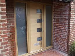Oak Exterior Doors Front And Exterior Doors Blue Oak Windows