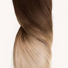 Skin Weft Seamless Hair Extensions by Ombre Hair Extensions Full Head Quadruple Set Milk Blush Uk