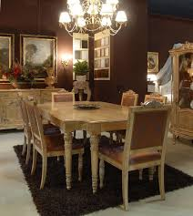 sedie imbottite per sala da pranzo tavolo con sedie imbottite per sala da pranzo classico di lusso