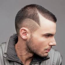 nice low fade haircut for black guys with receding hairline