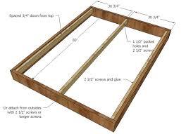 Dimensions Of King Bed Frame Size Bed Frame Plans Bed Frame Katalog 890e91951cfc