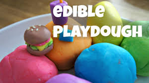 edible photo how to make colorful edible playdough marshmallow fondant