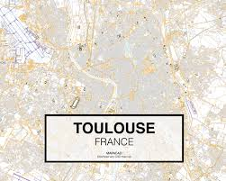 Toulouse France Map by Toulouse Dwg Mapacad