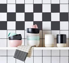 kitchen bathroom tile decals vinyl sticker solid color