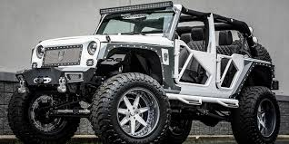 modified white jeep wrangler jeeps results from 216