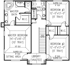 country style house plan 4 beds 3 50 baths 2457 sq ft plan 11 217