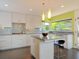Kitchen Cabinet Materials Pictures Options Tips  Ideas HGTV - Contemporary white kitchen cabinets