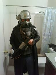 fallout new vegas halloween costume ncr veteran ranger armor made out of junk around the house fallout