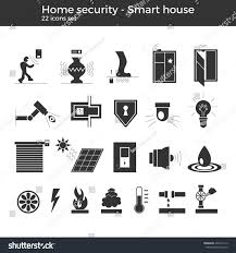 home automation logo design smart home automation vector icons set stock vector 499314112