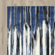 Modern Blue Rug Modern Abstract Area Rugs Allmodern