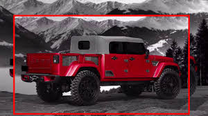 2018 jeep comanche price my 2017 2018 jeep wrangler srt8 pickup truck exhaust note youtube