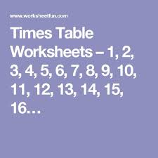 free worksheets times table worksheets 1 12 free math