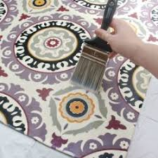 How To Make An Area Rug Out Of Carpet Tiles Make Your Own Custom Rug Out Of Any Fabric You From The Craft