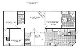 Corner Lot Floor Plans 3 Bedroom Floor Plan C 9810 Hawks Homes Manufactured