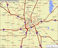 Texas smart traveler images Dallas map map holiday travel jpg