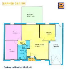 plan plain pied 4 chambres plan maison 150m2 4 chambres exceptional plan maison etage 4