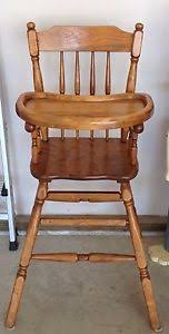 Antique Wooden High Chair Antique High Chair For Sale Rare Antique Collectibles