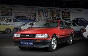 toyota family car corolla history of toyota sports cars