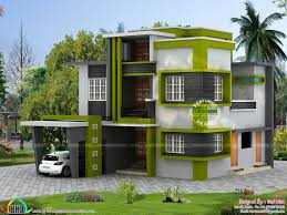 contemporary 5 bedroom house in 1790 sq ft kerala home design