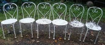 Vintage Bistro Chairs Vintage Arts Furnishings Garden Furniture Trocadero