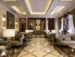 Decorated Homes Interior Simple European Style Sales Office Reception Room Interior Design