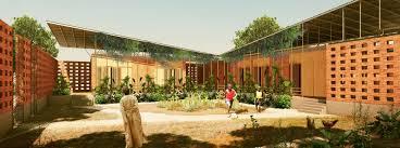 kéré architecture benga riverside residential community