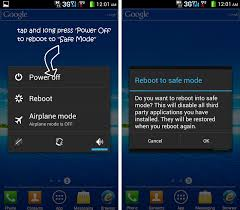 how to boot android phone into safe mode - Android Safe Mode