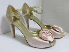 wedding shoes peep toe peep toe wedding shoes ebay