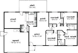 4 bedroom open floor plans 4 bedroom rectangular house plans rectangle house floor plans