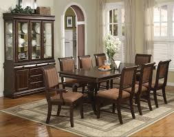 pedestal dining room set with china cabinet tags 39 wonderful