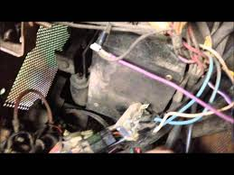removing the wire harness 2000 rpm pto from john deere 318 youtube