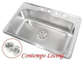 Kitchen Sinks Ebay Stainless Steel Undermount Sink Ebay