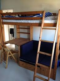 High Sleeper With Futon And Desk High Sleepers With Desk And Futon Roselawnlutheran