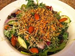 giant cancer fighting salad i ate everyday to beat cancer