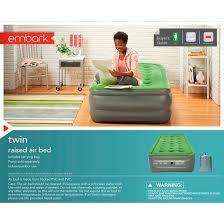 double high raised twin air mattress embark target