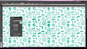 pattern drawing illustrator adobe illustrator tutorial create seamless repeating patterns using